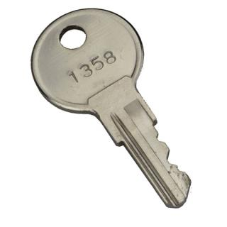 Replacement key for D101 lock set