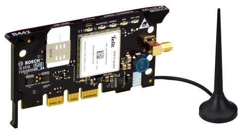 Plug-in cellular module, GPRS