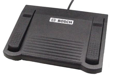 Foot pedal for DCN-MR