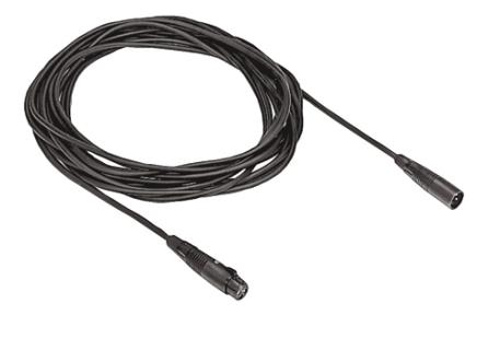 LBC1208/40 Microphone extension cable, XLR, 10m