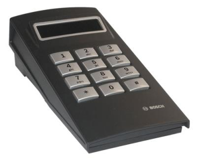 Call station numeric keypad