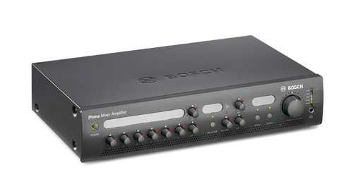 Priority mixer amplifier, 2-zone, 120W