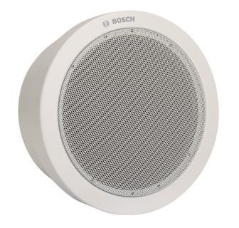 Głośnik w obudowie, metalowy, okrągły