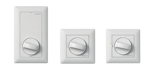 LBC14x0/x0 – Regulatory głośności MK i LBC1430/10 –  Przełącznik wyboru źródła