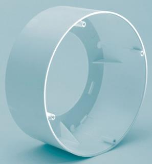 Surface mount box, white