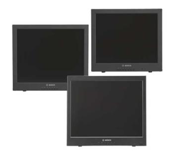 UML Series 17-, 19-, 20-inch High-performance LCD Flat Panel Monitors
