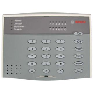 DS12R Series 12‑zone Self‑contained Control Panel