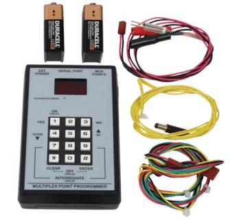 Handheld Multiplex point programmer