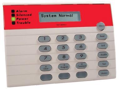 D7033 LCD Keypad