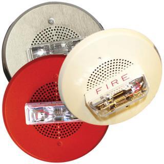 E90 High‑candela, Ceiling‑mount, Low‑profile Speaker Strobes