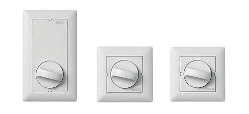 LBC14x0/x0 MK Reguladores de volumen y LBC1430/10 selector de canales