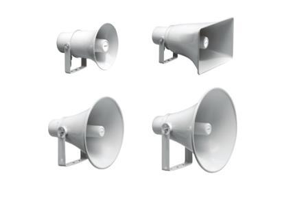 LBC34xx/12- Haut-parleurs à pavillon
