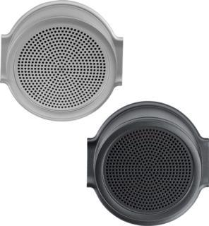 DCN-FLSP-D フラッシュマウントスピーカーパネル、ブラック