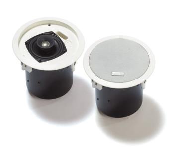 LC2-PC30G6-4 頂級音效 30W 4 吋天花板掛式揚聲器 (2 件)