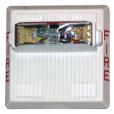 HS4‑241575W‑FW Fixed‑candela Horn Strobe (white)