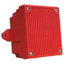 AH‑24WP‑R 24 VDC Weatherproof Electronic Horn (red)
