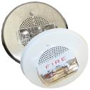 E90 Multi‑candela, Ceiling‑mount, Low‑profile Speaker Strobes