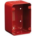 """Caja post. sup., 4,75x3,25x2,25"""", roja"""