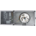 D340 Family two‑wire duct smoke detector housings