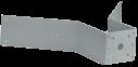 MIC-CMB-MG Soporte montaje esquina, gris arena