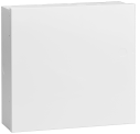 B11 Caja de acero, pequeña, blanca