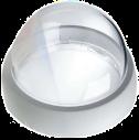 VGA-BUBBLE-IK10 ドームカバー、吊り下げ型、IK10定格