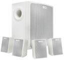 LB6-100S-L Wall mount speaker system, white