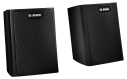 LB6-S-D Wall mount satellite speaker, black