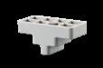 Kit de soporte de montaje en techo en acero rojo de hierro MNT-RIS-FDC para cámaras FLEXIDOME