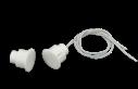 ISN-CSD70-W Contacto, 19mm, empotrar, blanco, 10uds