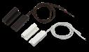 contatos com aba de montagem e entrada de fios pela lateral
