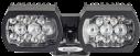 MIC-ILB-400 Illuminator, white-IR light, black