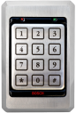 Access keypad, stainless steel