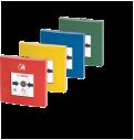 Pulsadores de alarma de accionamiento doble FMC‑210‑DM