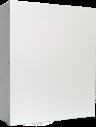 B10 Contenitore in acciaio, medio, bianco