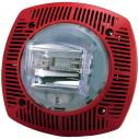 G-SSPK24-15/75WLPR Alt./luz estr. pared, 15/75cd 24V, rojo
