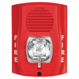 SS-P2RH-LF Wall/ceiling 520Hz horn/strobe, red