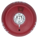 SS-PC2RL Ceiling horn/strobe, 2-wire, red