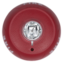 SS-SCRL Ceiling strobe, 2-wire, red