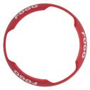 SS-BZRC-PG Bezel ceiling horn/strobe red, pt