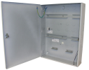 AEC-AMC2-UL2 Enclosure with 2 DIN rails