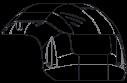 MIC-7100I-SNSHLD-W Sunshield for MIC 7100i white