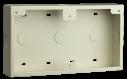 D56 Conduit box, surface-mount, white