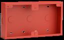 D56R Aansluitdoos, opbouwmontage, rood