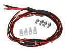 D122L Dual battery harness, 35'', 12V