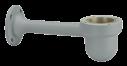 MIC-WMB-MG Sop. pared cámara domo PTZ reforz., gris