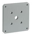MIC-SPR-MG Wall mount spreader plate, grey sand