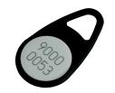 Contactless MIFARE ID Keyfob 1