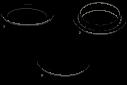 VGA-BUBLRG-CTIA Burbuja, en techo, grande, tintada