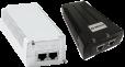 Midspan PoE de alta potencia y 60W, puerto único, entrada CA